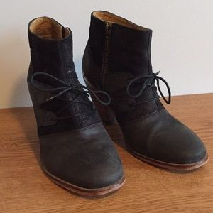 Quality Leather Boots with Suede